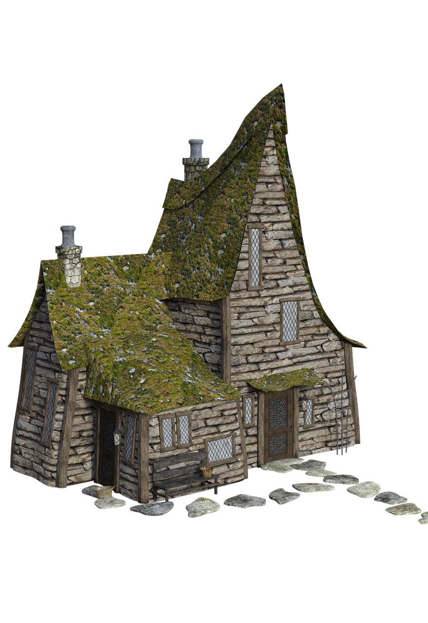 small house, house, building