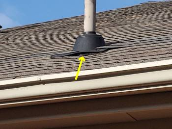 Photo of a lifting roof boot.